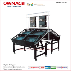 Estante/estante de OW-FR01 Vegetable&Fruit